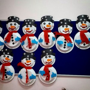 paper plate snowman craft snowman craft idea for crafts and worksheets for 5115