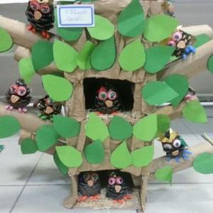 pinecone owl craft (2)