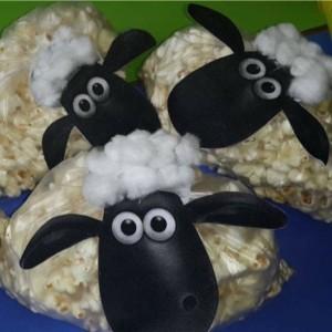 popcorn sheep craft