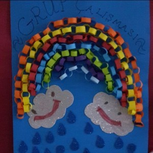 rainbow craft idea for kids