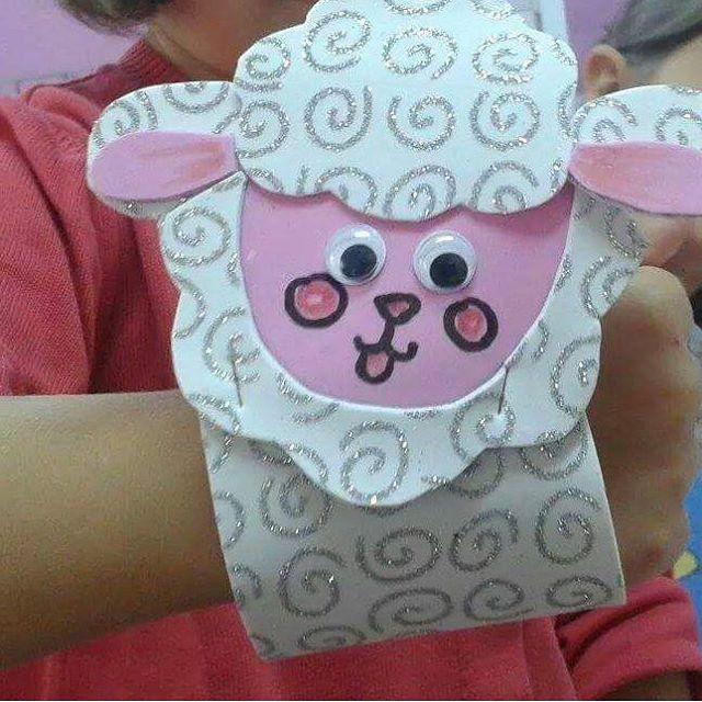 sheep craft idea for kids (2)