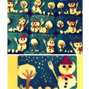 snowman craft idea for kids (8)