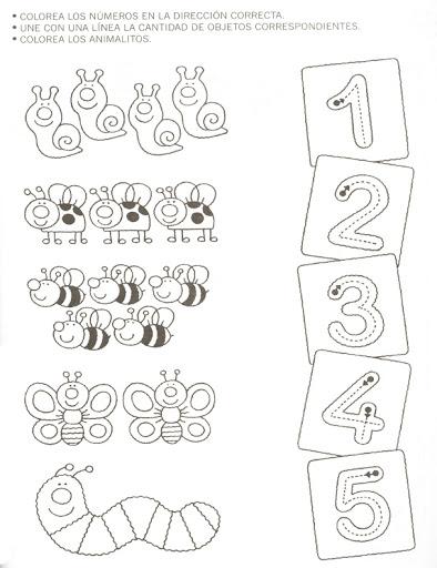 animal counting worksheet (1)