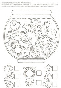 animal counting worksheet (2)