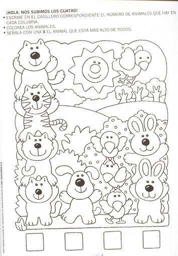animal counting worksheet (3)