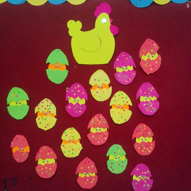 chick bulletin board idea (4)