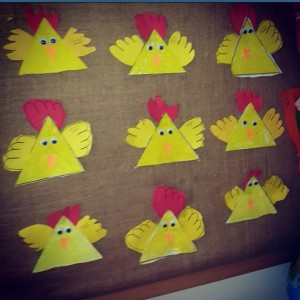 chicken craft idea for kids (3)