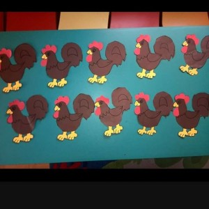 chicken craft idea for kids (6)