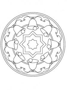 christmas mandala coloring page for kids (2)