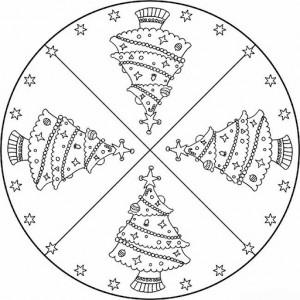 christmas tree mandala coloring page (3)