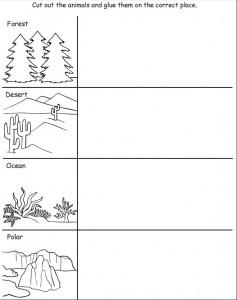 cut and paste animal habitat worksheet (1)