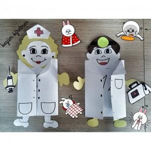 doctor craft idea