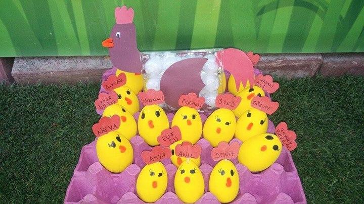 egg chick craft