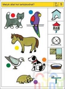 free printable animal habitat worksheet (3)