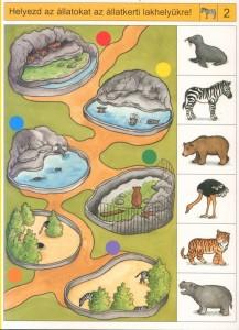 free printable animal habitat worksheet (4)