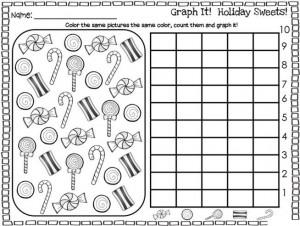 holiday graph worksheet