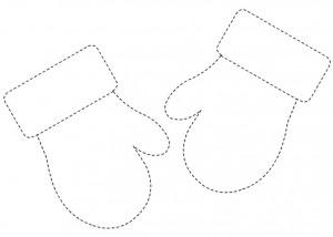 mitten trace worksheet (3)