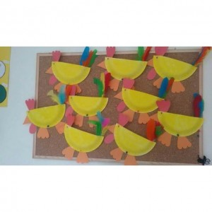 paper plate chicken craft (2)