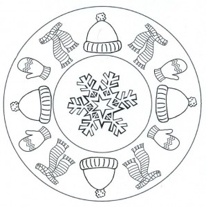 winter clothes mandala coloring (2)