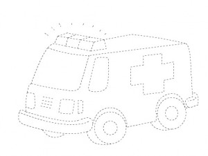 ambulance-trace-line-worksheet