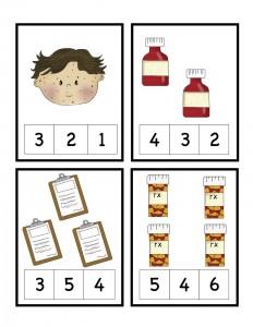 doctor number count worksheet
