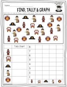 fire safety week graph worksheet