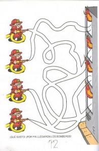 fire safety week maze worksheet (1)