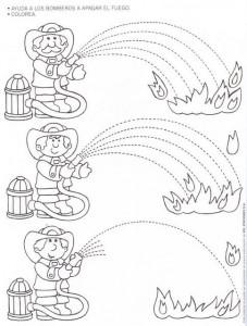 fire safety week worksheet for kids (1)