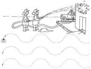 fireman trace worksheet (2)