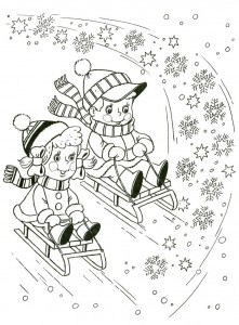 free printable winter coloring page (3)