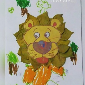 leaf lion craft