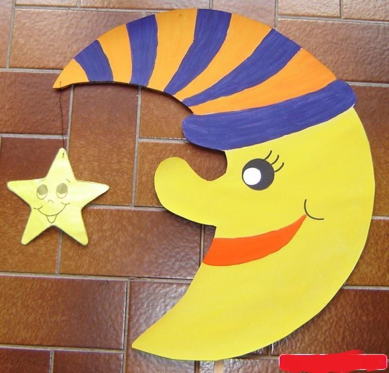 moon craft idea for kids