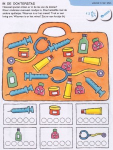 tools number count worksheet
