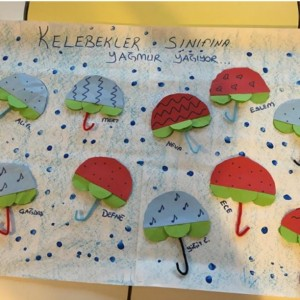 umbrella craft idea for kids (2)