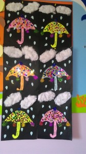 umbrella craft idea for kids (3)
