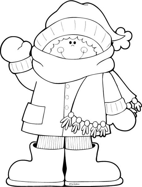 Winter Season Coloring Page 3 Crafts And Worksheets For