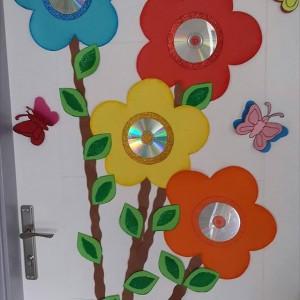 cd flower craft (1)