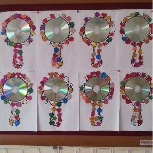 cd mirror craft