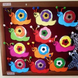 cd snail craft idea (2)