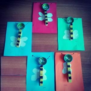 clothes pin bee craft idea