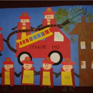 fireman craft idea for kids