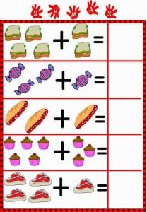 food addition worksheet