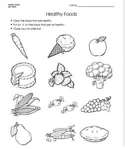 food worksheet for kids (2)