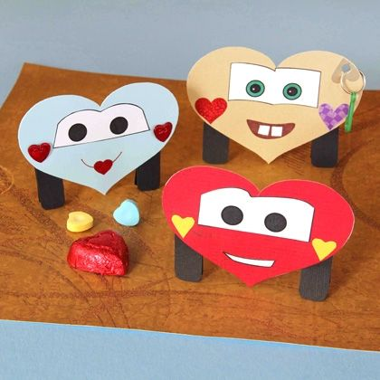 heart car craft