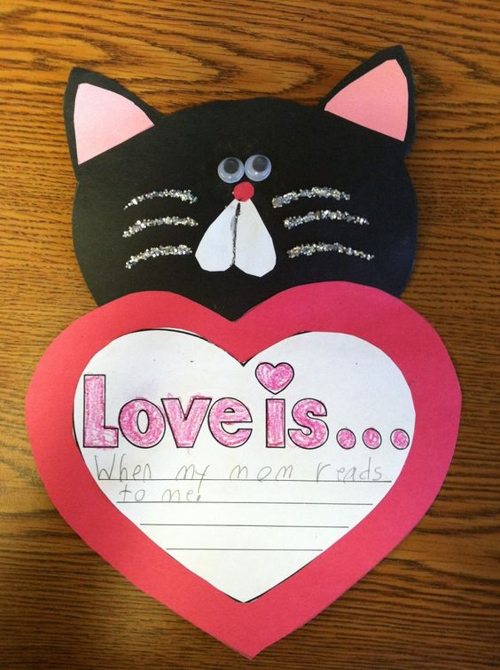 heart cat craft (2)