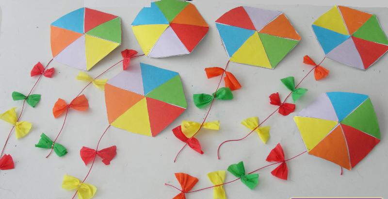 kite craft idea for kids (1)