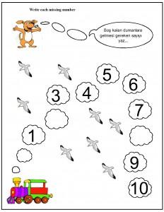 missing number worksheet for kids (12)