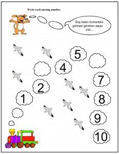 missing number worksheet for kids (13)