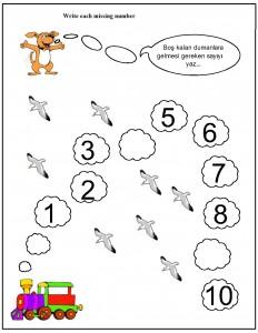 missing number worksheet for kids (15)