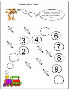 missing number worksheet for kids (16)